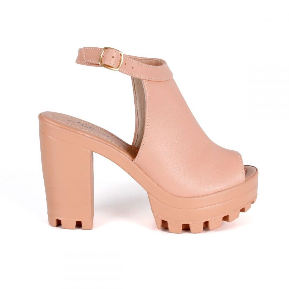 4a27bc464a SANDALIA SALTO TRATORADA NUDE – Not-me Shoes