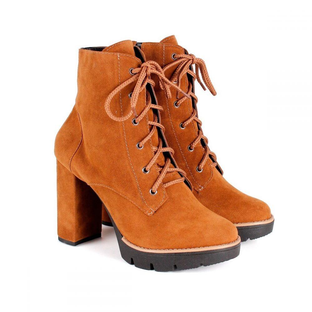 f2ff1fbedf481 BOTA COTURNO TRATORADO FEMININA CARAMELO – Not-me Shoes