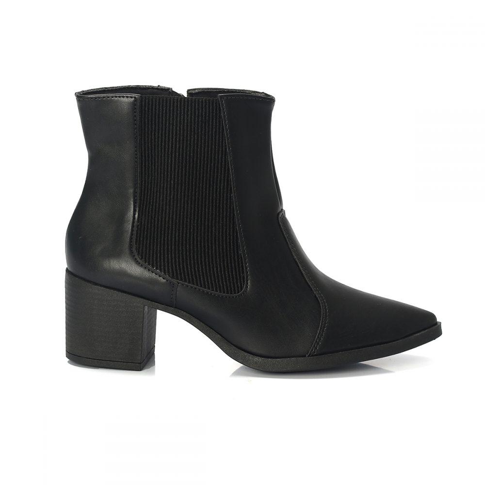 0aca79f83b Bota LOST Feminina Bico Fino Preta – Not-me Shoes