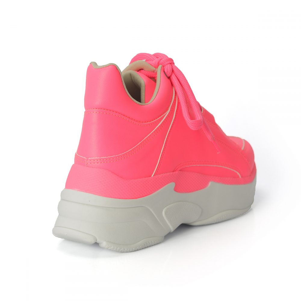 size 40 5f9cf 40beb Tênis Dad Sneakers Pink Neon Color – Not-me Shoes