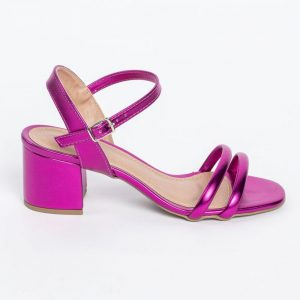 sandalia block pink metal not-me (3)