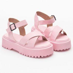 Sandália rasteirinha salto taça plataforma bota Calçado Feminino Loja Online not-me shoes (58)