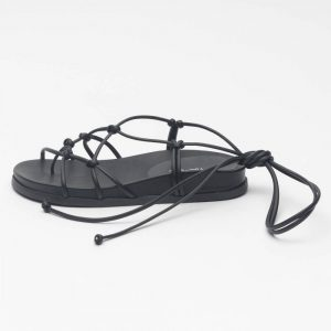 sandália feminino comprar atacado varejo direto de fabrica amarracao detalhes dourados verao tendencia notme shoes loja online