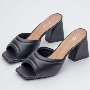 tamanco feminino comprar atacado preto fofo confortavel salto bloco tendencia verao notme shoes varejo direto de fabrica loja online