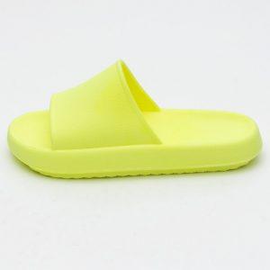 chinelo confortavel slide fofo feminino site online notme shoes comprar amarelo marca texto atacado fabrica revendedor